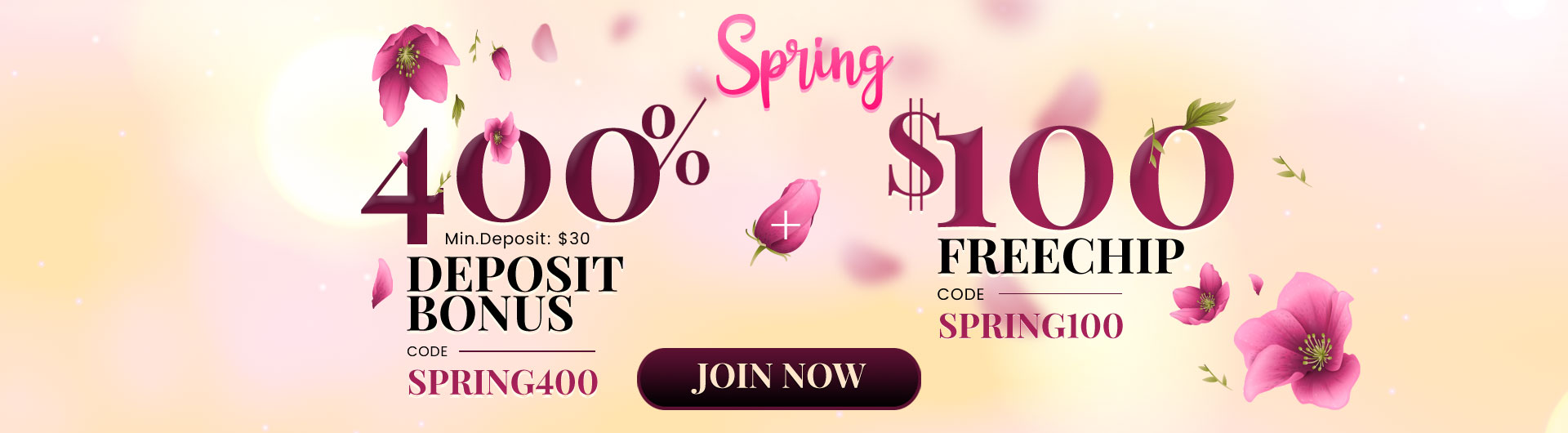 Exclusive Spring Season Promotions from Slots 7 Casino